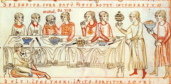 Tischsitten Im Mittelalter Arbeitsblatt : Furor normannicus norman re enactment